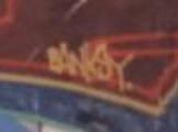バンクシーのサイン