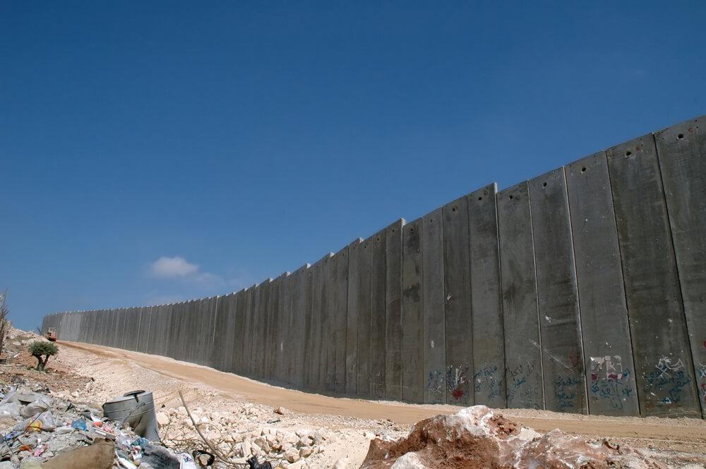 ヨルダン川西岸地区の分離壁