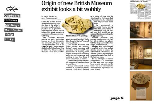 自5月。大英博物館
